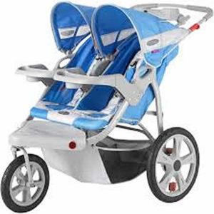 Charleston Babys Away-Jogging Stroller - Double