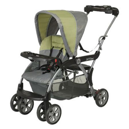 Charleston Babys Away-Sit & Stand Stroller – Double