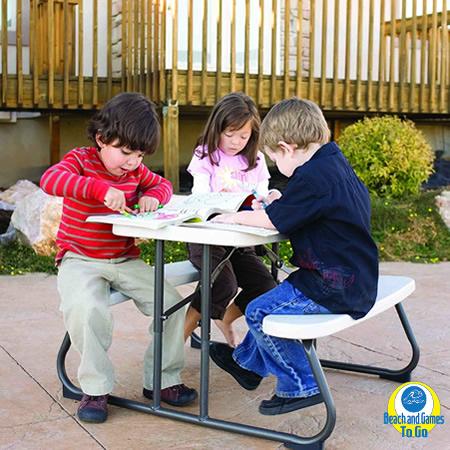 BGTG-Lifetime Kid's Picnic Table 2